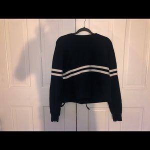 Brandy striped sweatshirt